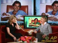 Jenna Bush makes surprise call to her parents from the set of `The Ellen DeGeneres Show'