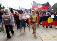 aboriginal ceremony held in Australia parliament