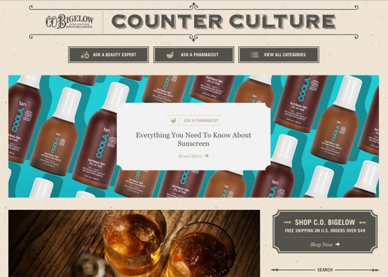 Counter Culture - The C.O. Bigelow Blog
