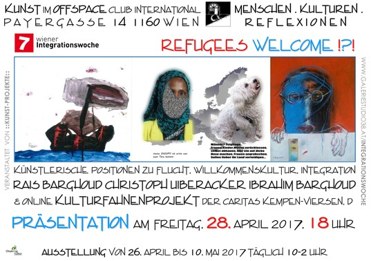 KUNST im OFFSPACE Club International C.I. Payergasse 14, 1160 Wien