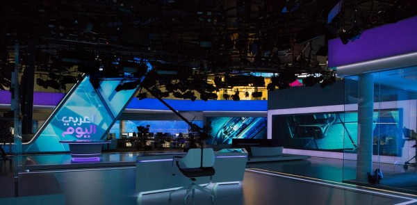IP innovation at its best: Ein neues, hochmodernes TV Studio für Al-Araby