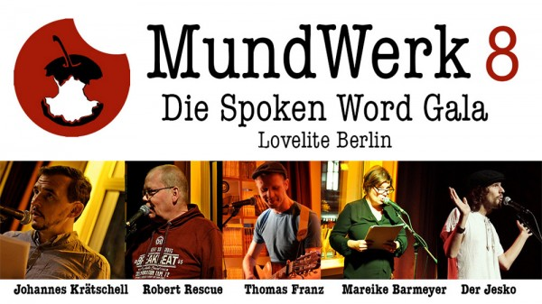 MundWerk Spoken Word Gala No. 8
