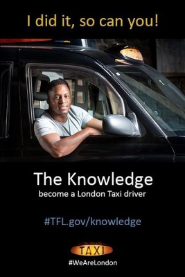 London Taxi PR launches 'The Knowledge' campaign