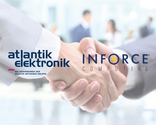 Atlantik Elektronik und Inforce Computing vereinbarten einen Distributionsvertrag