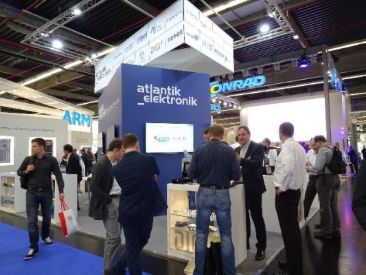 Atlantik Elektronik Messestand