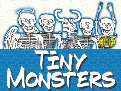 Tiny Monsters by Tinysaur.us