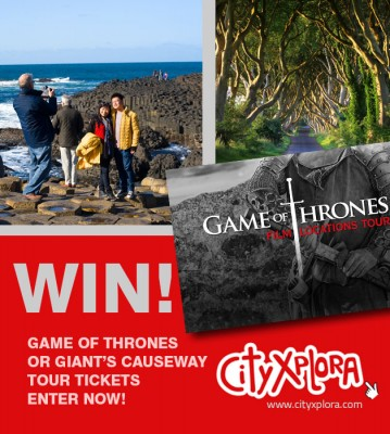 Win Game of Thrones Location sites tour tickets with CityXplora