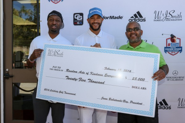 The Will and Jada Smith Family Foundation presenting R.A.K.E. with a great donation!
