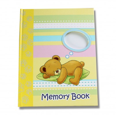 A Young Mother Launches New Baby Memory Book