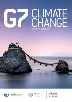Front cover of CCTNE G7 Climate Change Edition