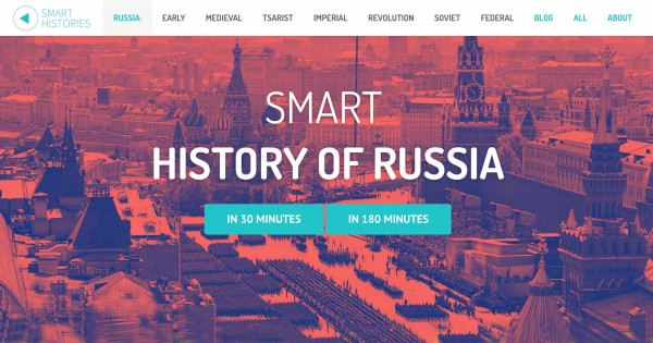 Smart History of Russia Website