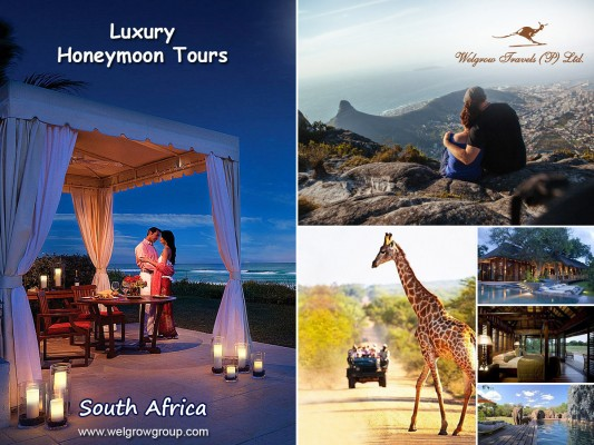 Welgrow Travels Adds New Luxury Honeymoon Tours to the Romantic Country South Africa