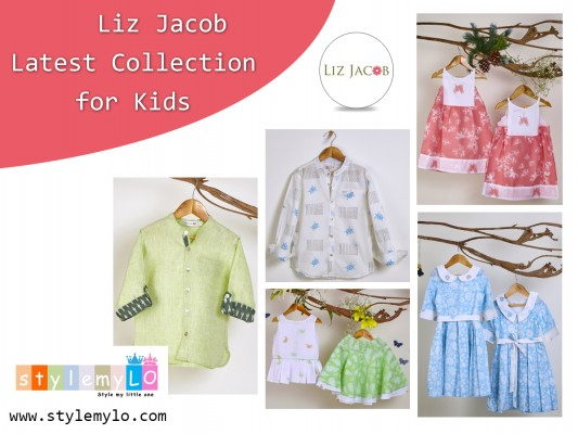 Stylemylo Adds New Designer Kids Clothing Line from the Famous Designer Liz Jacob