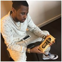 American Rapper Fabolous with The Clipper Condom