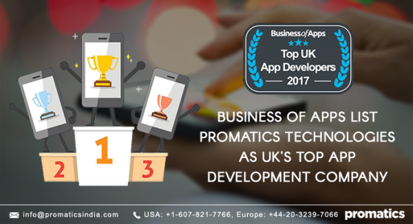 Promatics Technologies is the one of the top app development companies in UK