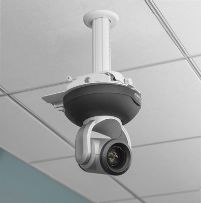 QuickCAT Suspended Ceiling Camera Mount is compatible with most pro AV cameras