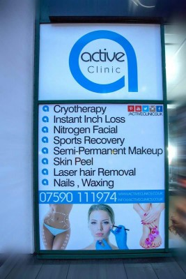 Active Clinics, Five Ways , Birmingham, Cryotherapy Clinic, Cryo Clinic,