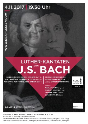 J.S. Bach, Luther-Kantaten