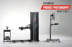 Automated product photography and video made easy.