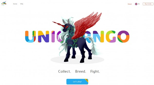 UnicornGo a revolutionary collectiona-based online game.