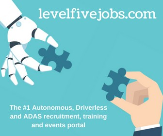 Level Five Jobs is the #1 portal for autonomous, driverless and ADAS recruitment, training and events.